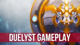 Duelyst: Lyonar Kingdoms Ranked Gameplay! (Budget Deck)