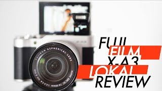 Fujifilm X-A3 Review Bahasa Indonesia