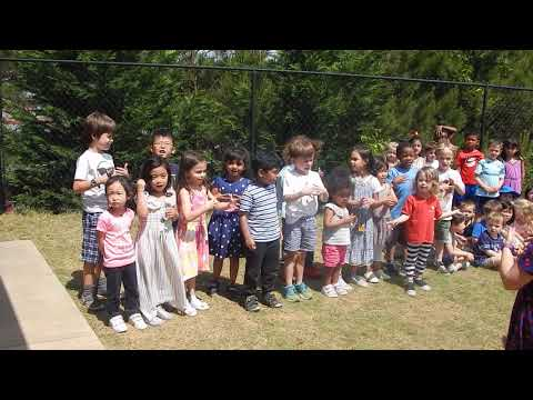 2019 Mothers' Day Tea at Stepping Stone Montessori School - Primary 1