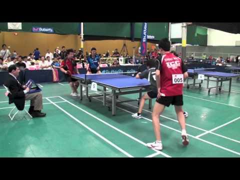 Oh Sangeun /  Eugene Wang vs Zhou Xin /  Liang  Jishan Open Doubles Final