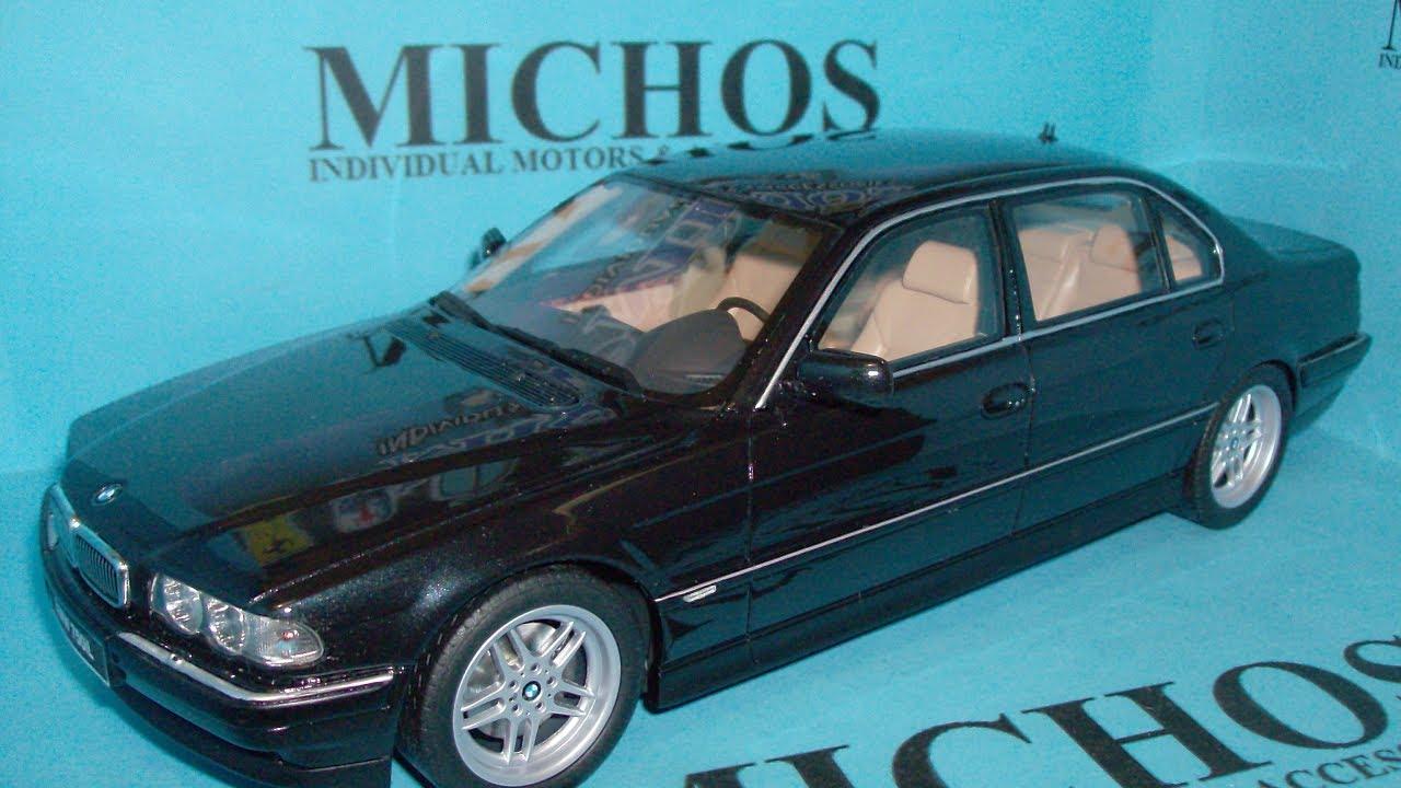 1 18 Bmw 750il E38 M Pack Black Otto Models Ot609
