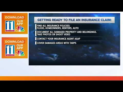 How to file an insurance claim after hurricane or major storm
