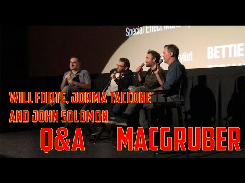 "Will Forte, Jorma Taccone and John Solomon  ""MacGruber""  Q&A | Alamo Drafthouse 2018 Mp3"