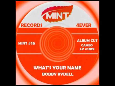 WHAT'S YOUR NAME, Bobby Rydell, Cameo LP #1019  1962