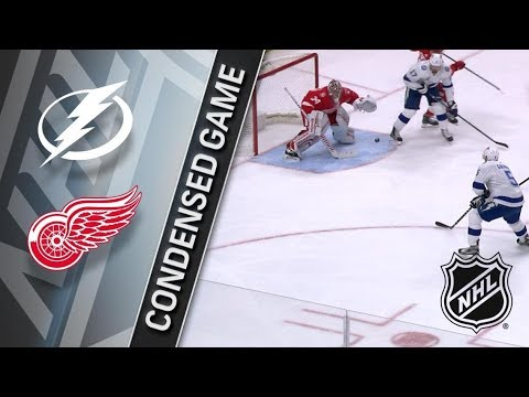 Tampa Bay Lightning vs Detroit Red Wings – Jan. 07, 2018 | Game Highlights | NHL 2017/18.Обзор матча