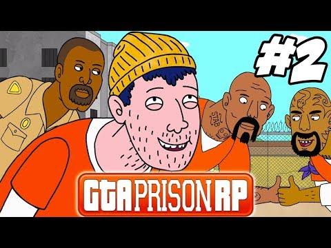 LES ANCIENS NOUS VEULENT DU MAL ! GTAV PRISON RP #2