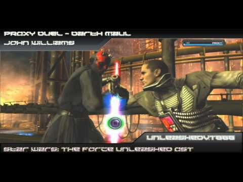 SW: The Force Unleashed Custom Soundtrack - PROXY Duel - Darth Maul