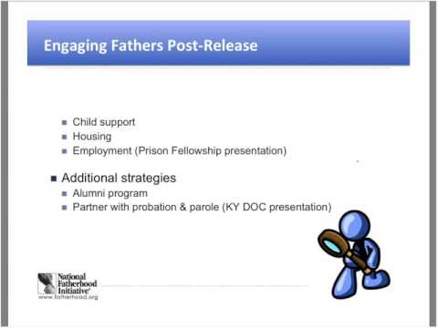 Keeping Fathers Engaged in Reentry Programs Post-Release