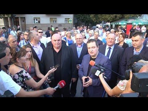 Ivica Dačić i Dragan Marković Palma u Leskovcu - Roštiljijada 2017.