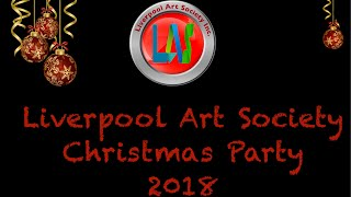 Liverpool Art Society Christmas Party 2018