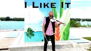 I Like It - Cardi B, Bad Bunny & J Balvin - violin cover by Frank Lima Video