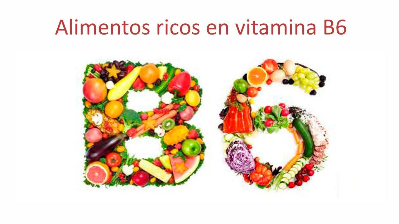 Alimentos vitamina b6 contienen q