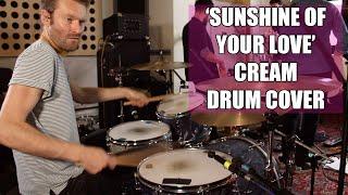 'Sunshine Of Your Love' - Cream - Drum cover (Ginger Baker RIP)