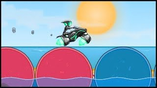 MOTO X3M Bike Racing Game Space Bike Pool Party, Winter, Witch And Space #MOTOX3M #MOTOX3MGamepla