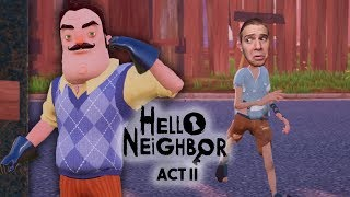 CÁPA A HÁZBAN?! - HELLO NEIGHBOR - ACT II