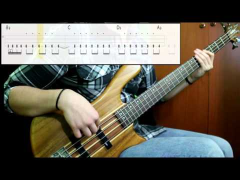 The Black Crowes - Nonfiction (Bass Only) (Play Along Tabs In Video)