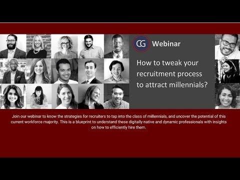 Recruiting Millennials   How to tweak your recruitment process to attract millennials