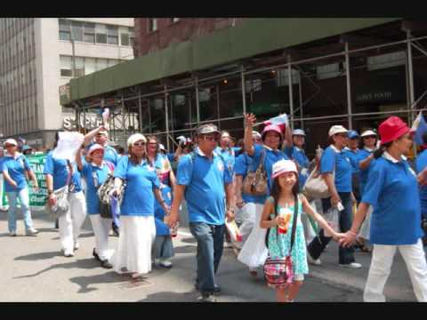 Philippine Independence day Parade  NYC_El Shaddai members