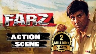 Farz | Best Bollywood Entry Action Scene Feat. Sunny Deol | Hindi Movies | Sunny Deol | Action Movie