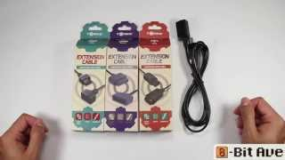 Tomee NES, SNES, N64, and GameCube 6 ft  Extension Cords Unboxing Video from www.8BitAve.com