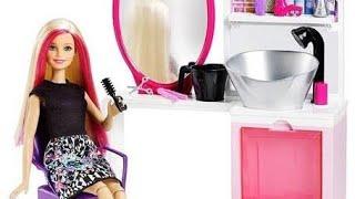 Barbie kuaför seti açıyorum