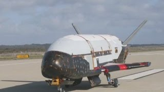 Mystery spaceship returns to Earth