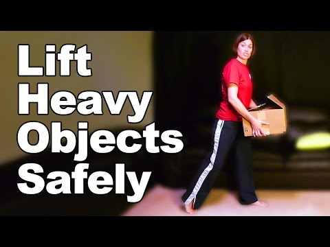 Safe Lifting of Heavy Objects - Ask Doctor Jo