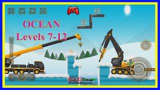 #02 Construction City 2 Winter | OCEAN | Level 7-12 screenshot 3