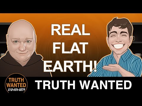 Flat Earth is real and Moon landing is fake! | Roy - New Mexico | Truth Wanted 02.30 thumbnail