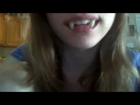 My Retractable Vampire Fangs Youtube