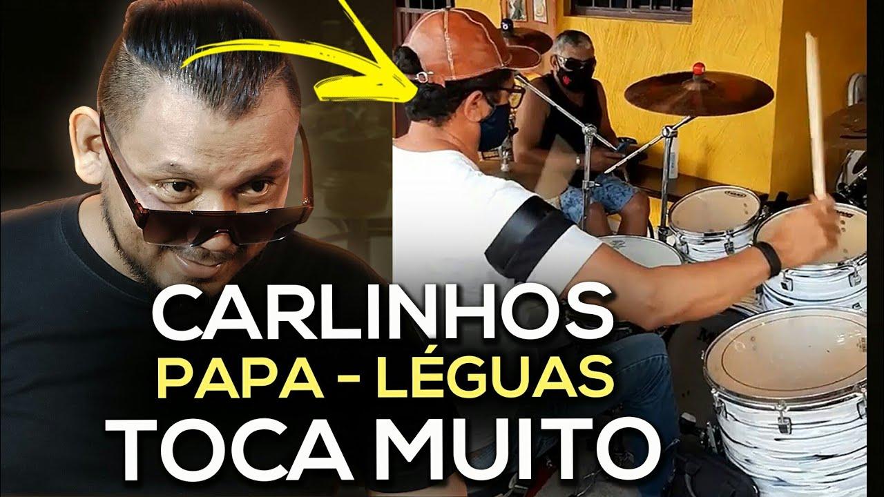 CARLINHOS PAPA-LÉGUAS tocando abertura do Limão com Mel   Emocionante Demais