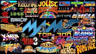 Mame/Arcade Top 300 Games 📥