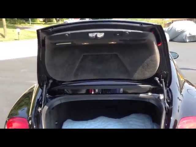 Bentley Continental GT Battery Service (+Locations) - YouTube