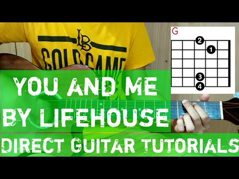 You and me Guitar Tutorial|Chords|Lyrics by Lifehouse - Direct ...