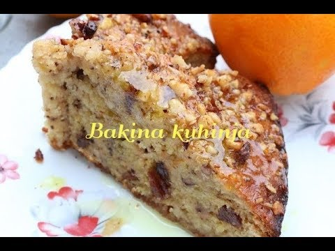Bakina kuhinja-sočan kolač sa prelivom od pomorandže