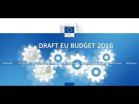 EU budget proposal 2016