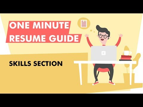 How To Write A Skills Section For Your Resume In 2020 [Examples Included]