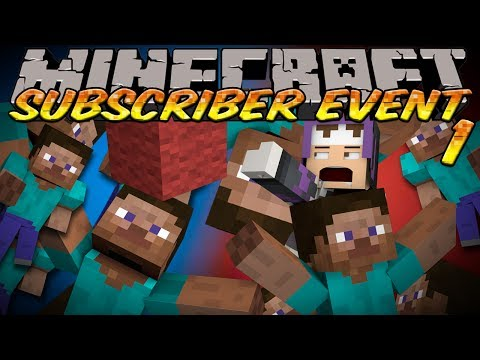 [NEW SERIES] Minecraft Subscriber Fun Event 1 - RACE FOR WOOL Slippery Slope PART 2