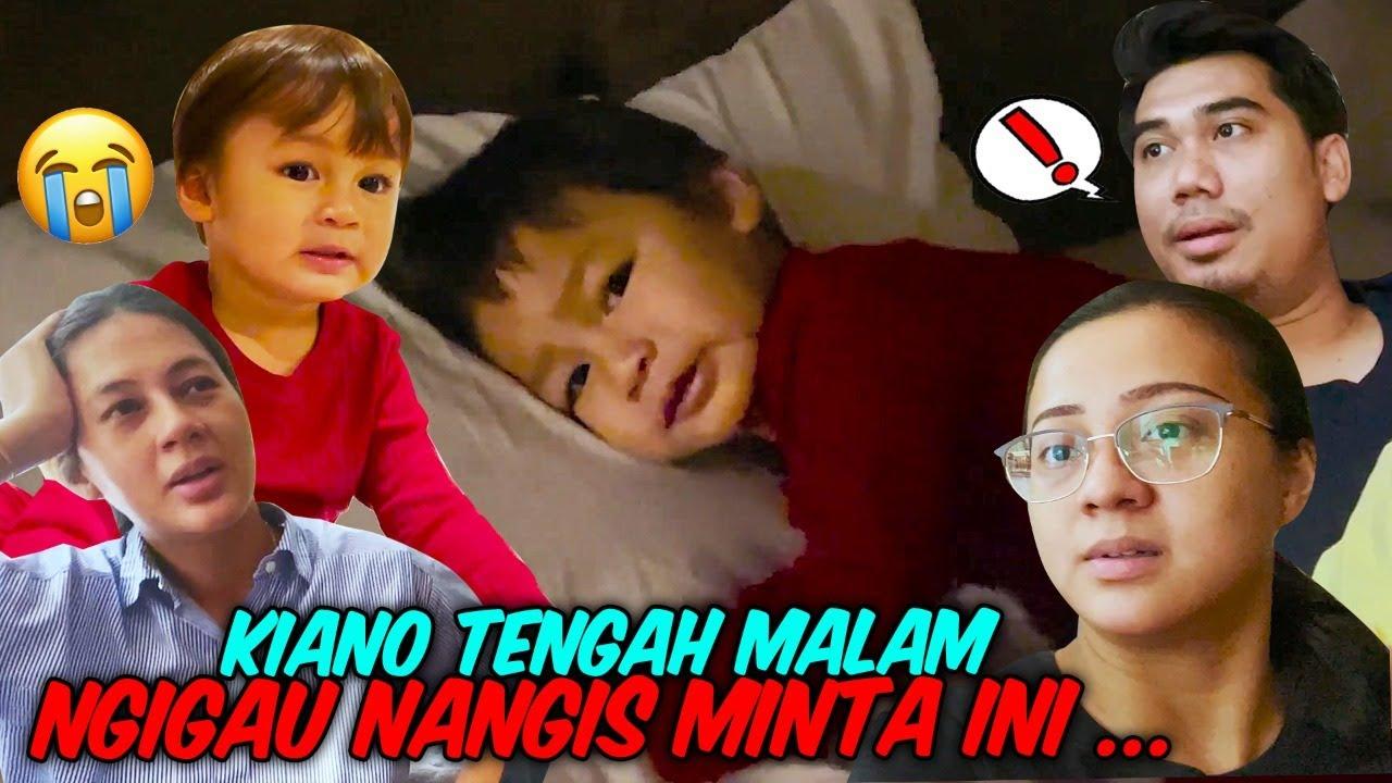 PART II 24 JAM NGURUS KIANO !!! TENGAH MALAM KIANO NANGIS !!!
