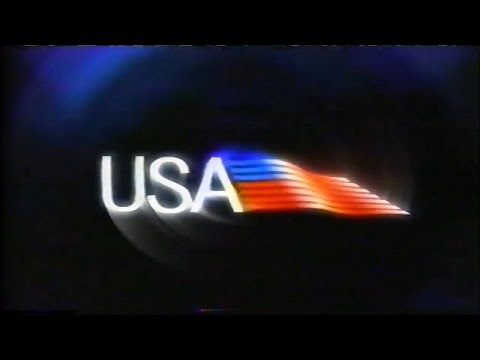 """USA Network ID 1999 - """"You Are Here"""" (The Flag)"""