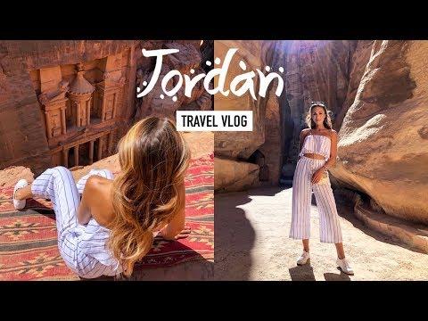 OUR TRIP TO JORDAN! Adventures, Food & Fashion | Vlog #24 | Annie Jaffrey