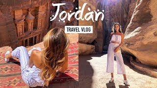 OUR TRIP TO JORDAN! Adventures, Food & Fashion | Vlog #24 | Annie Jaffrey
