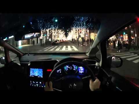 ホンダ 3代目フィット東京 夜景ドライブ | Honda Fit3 Tokyo POV Night Drive