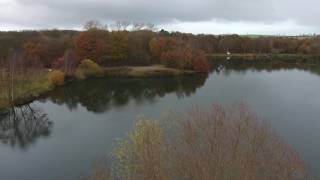 Woodland Waters Drone over lake