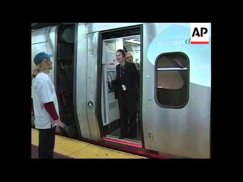 USA: FIRST BULLET TRAIN