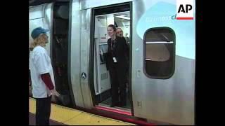 USA: FIRST BULLET TRAIN