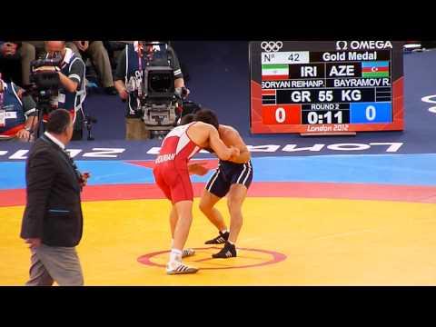 Soryan Reihanpour ( Iran)- Rovshan Bayramov ( Azerbaijan ).Greco-Roman Wrestling Mens
