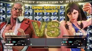 Compa fighters 12 (Vicaron) Urien vs (LuisM-X) Chun Li 3 sets