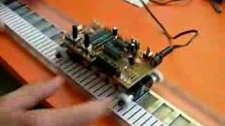 MRVlin : moteur à réluctance variable linéaire (video2)