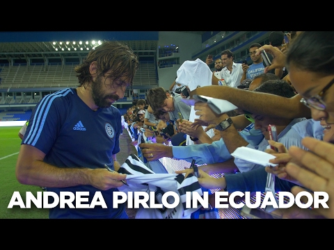 Andrea Pirlo previews the match against Emelec